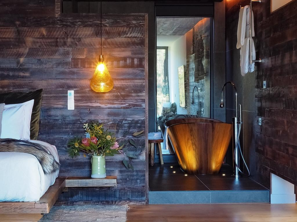 The stunning villa has been transformed from an old shipping container. Picture: Stayz