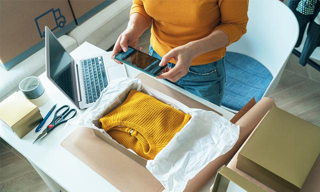 Got some secondhand goods in quality condition? Spruik them on eBay to make a little extra money! Image: iStock.