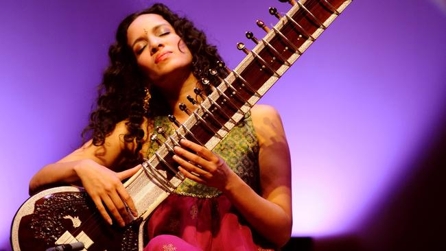 Sitarist Anoushka Shankar returned to Womadelaide after eight years. Picture: simonyc