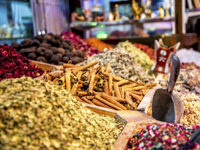 AL FAHIDI HISTORIC DISTRICT The old town area of Dubai, the Al Fahidi Historic District is the perfect place to spend a few hours wandering, exploring and inhaling the magical scent of Arabian spices. The labyrinthine streets have been beautifully restored, and in addition to the pungent aroma of spice, you'll also find a mixture of galleries, two boutique hotels, restaurants and cafes. Time to get your haggle on! Picture: Gargolas / Getty Images