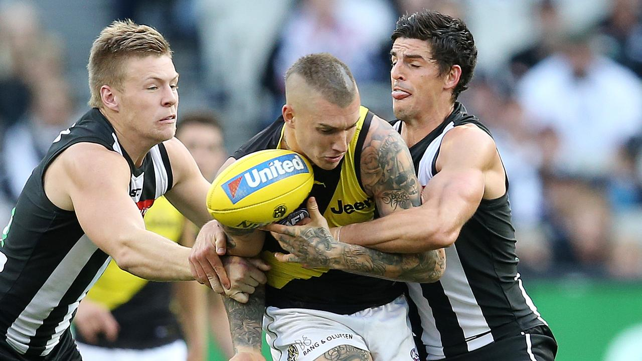 Collingwood and Richmond could kick-start the revamped 2020 season. Picture: Michael Klein