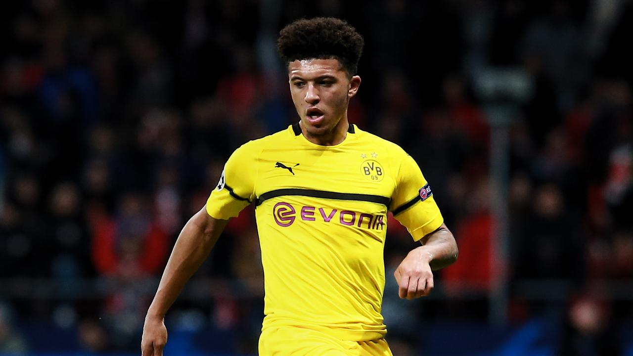 Manchester United are considering a sensational transfer swoop for Jadon Sancho