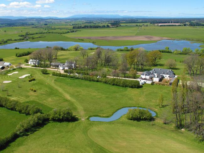 Quamby Estate has acres and acres to explore, including its very own golf course.