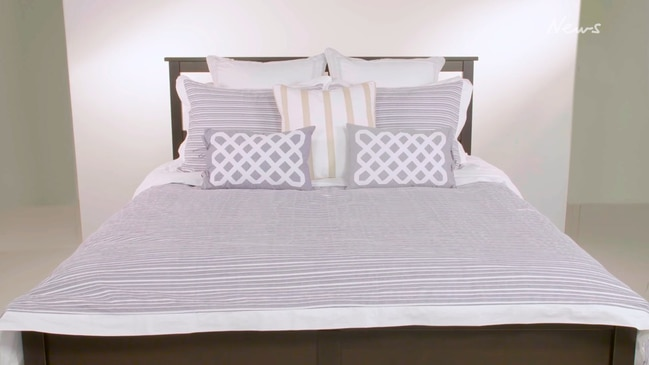 Martha Stewart's 'real simple' doona cover tutorial