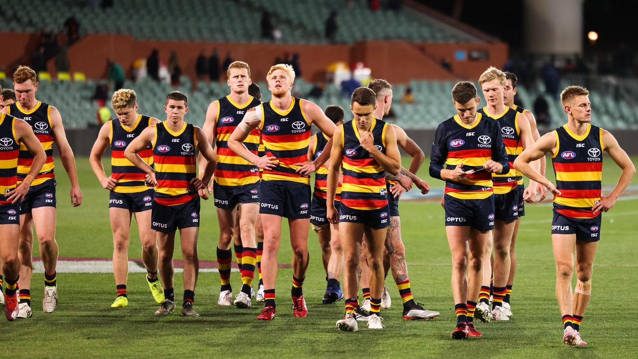 Adelaide hasn't won a game in 2020. Photo: Daniel Kalisz/Getty Images.