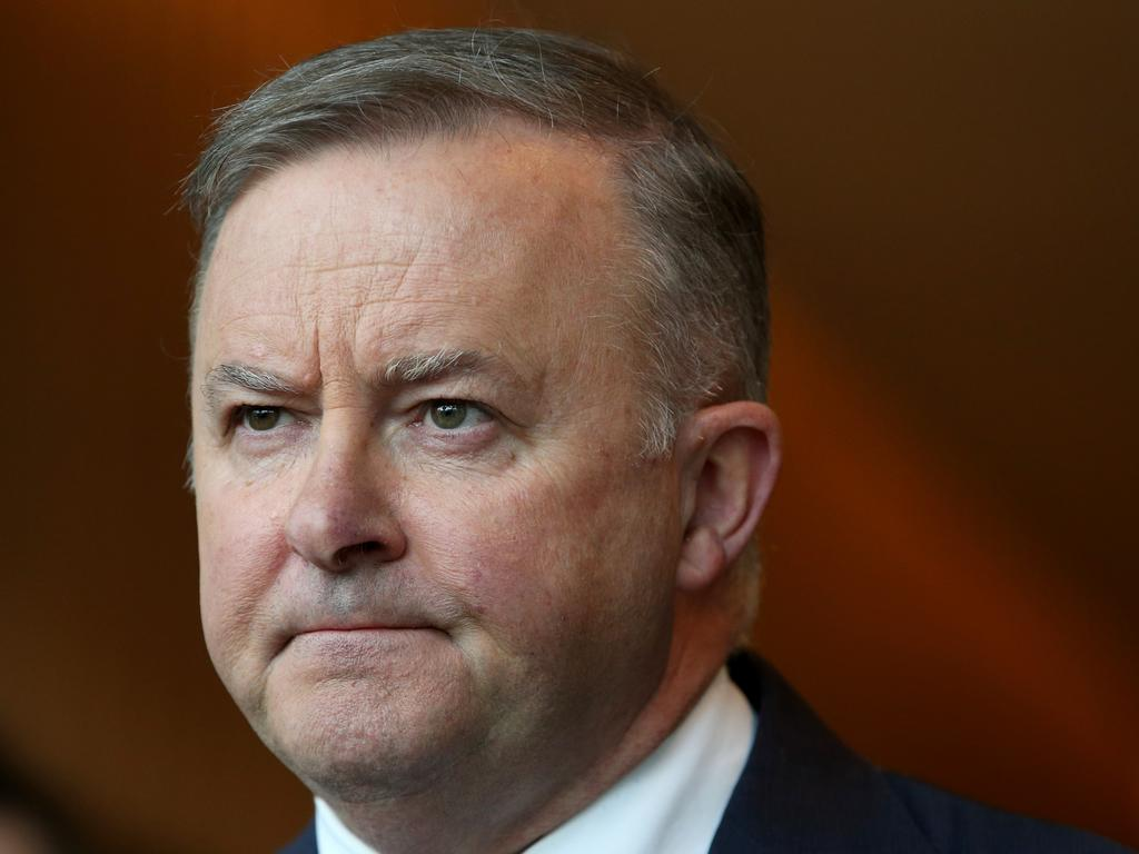 Opposition leader Anthony Albanese says the Government needs to sit during the COVID-19 crisis. Damian Shaw/ NCA NewsWire