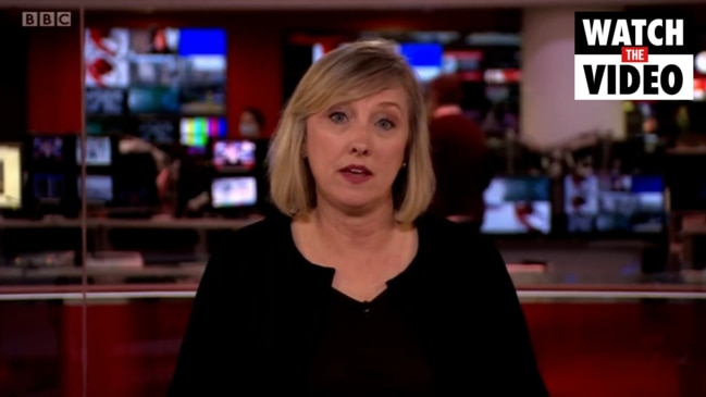 BBC newsreader chokes up announcing Prince Philip's death