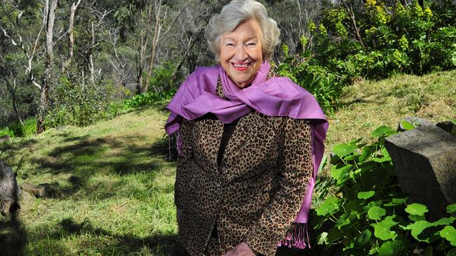 Former TV personality Jaye Walton at her home in Belair.