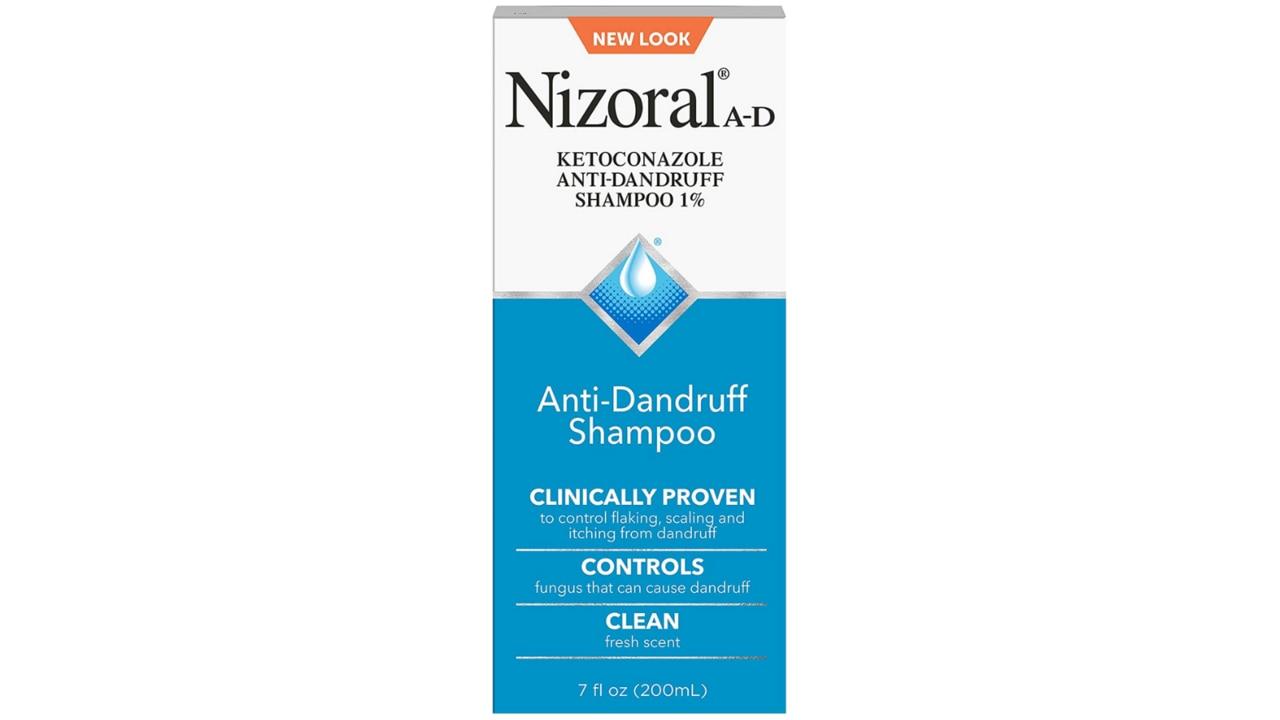 Nizoral Anti-Dandruff Shampoo. Image: Amazon Australia.