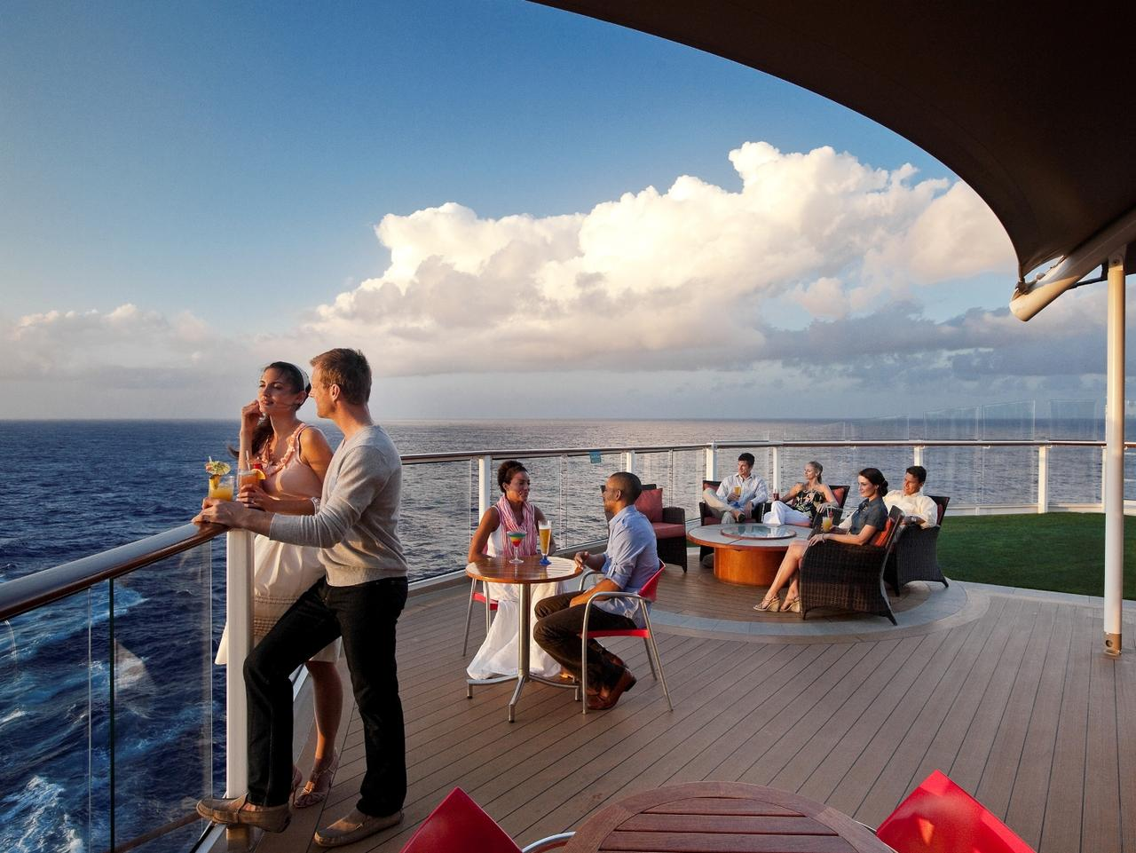 Sunset Bar on Celebrity Solstice. Picture: Celebrity Cruises  Jane Lawson, Escape, Celebrity Solstice cruise