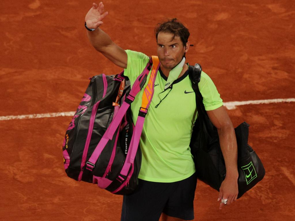 Rafael Nadal won't be the French Open champion for a 14th time.