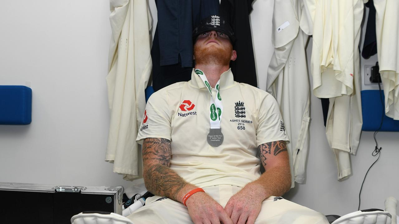 Ashes: England's pitch-perfect celebration on Headingley pitch