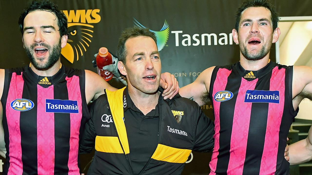 AFL 2019: Jordan Lewis says Alastair Clarkson is a man of his word and will see out Hawthorn contract