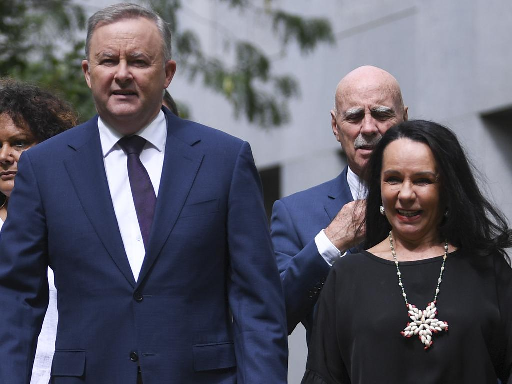 Opposition Leader Anthony Albanese and opposition Indigenous spokeswoman Linda Burney both expressed that more needed to be done to support Indigenous Australians. Picture: AAP Image/Lukas Coch.