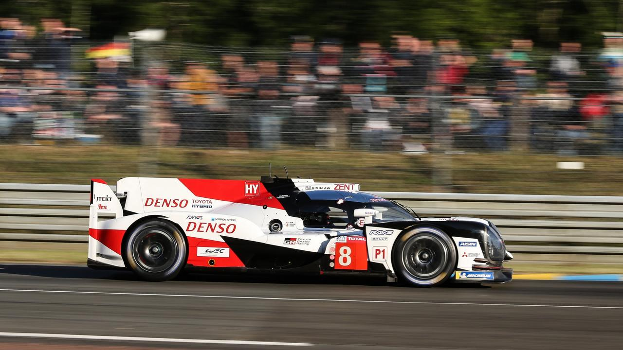 Former F1 driver Fernando Alonso won the 24 Hours of Le Mans with Toyota.