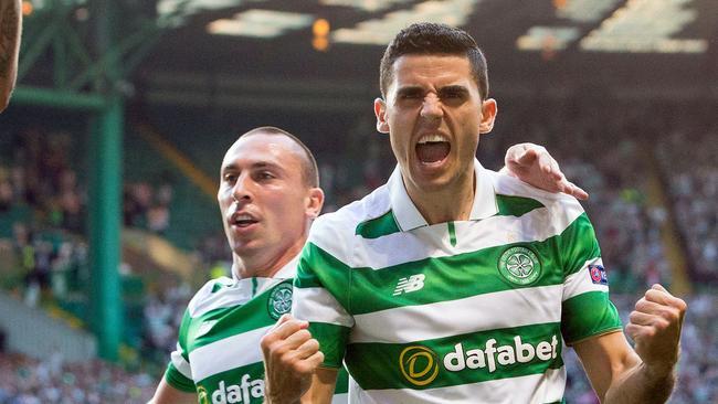 Tom Rogic is killing it at Celtic. Picture: Jeff Holmes/PA via AP