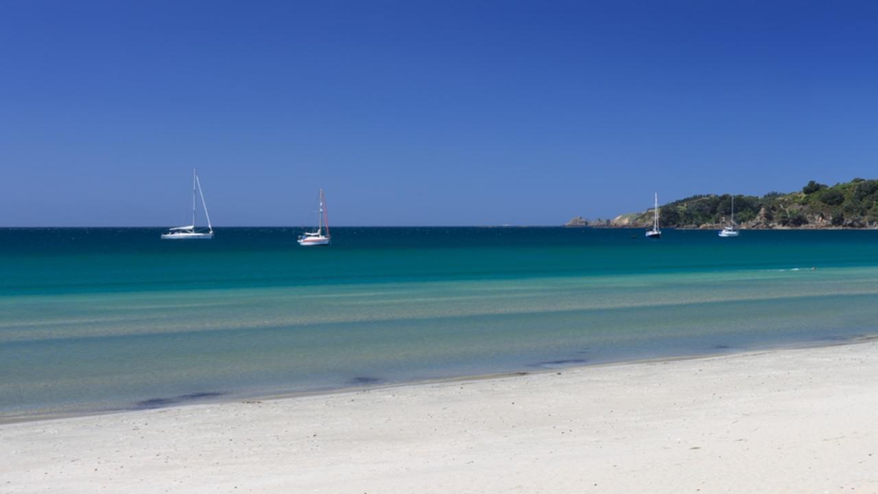 Oneroa Beach on Waiheke Island, part of Auckland. Picture: iStock