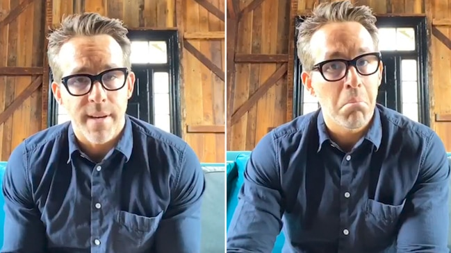 Ryan Reynolds trolls celebrities' COVID-19 videos