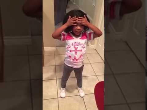 KIDS: Little Girl Loves Her 'Dazzling' New Hairdo October 23