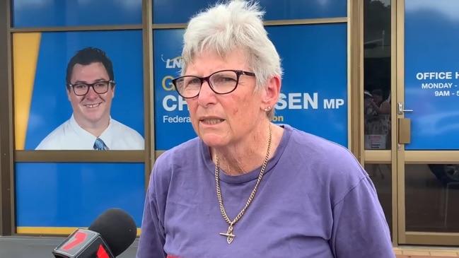 QNMU protests outside Dawson MP's office
