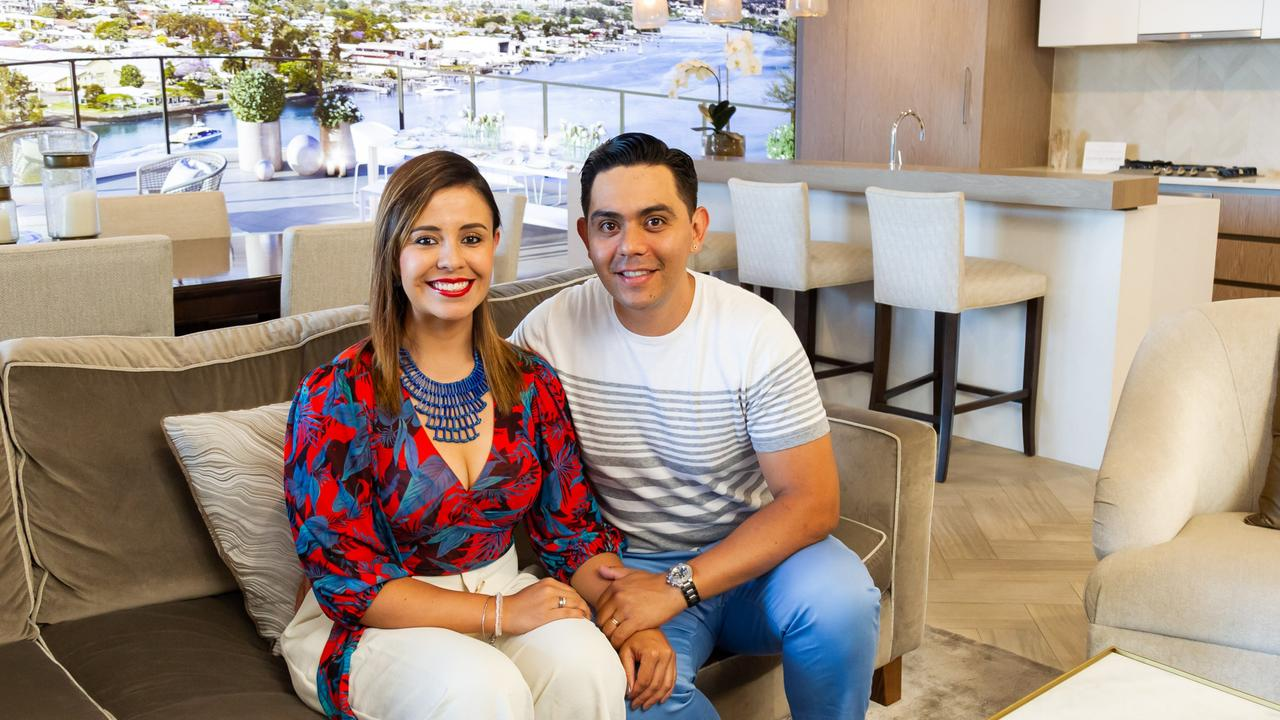 Jorge and Alejandra Palacios have just bought a new apartment in Gallery House in Hamilton.