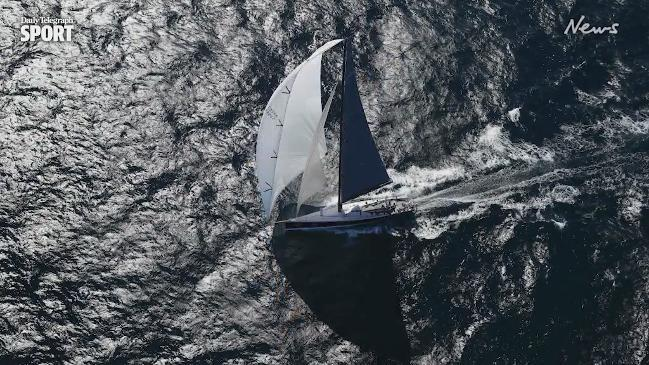 Sydney to Hobart, Brett Costello shows us a bird's eye view of the race