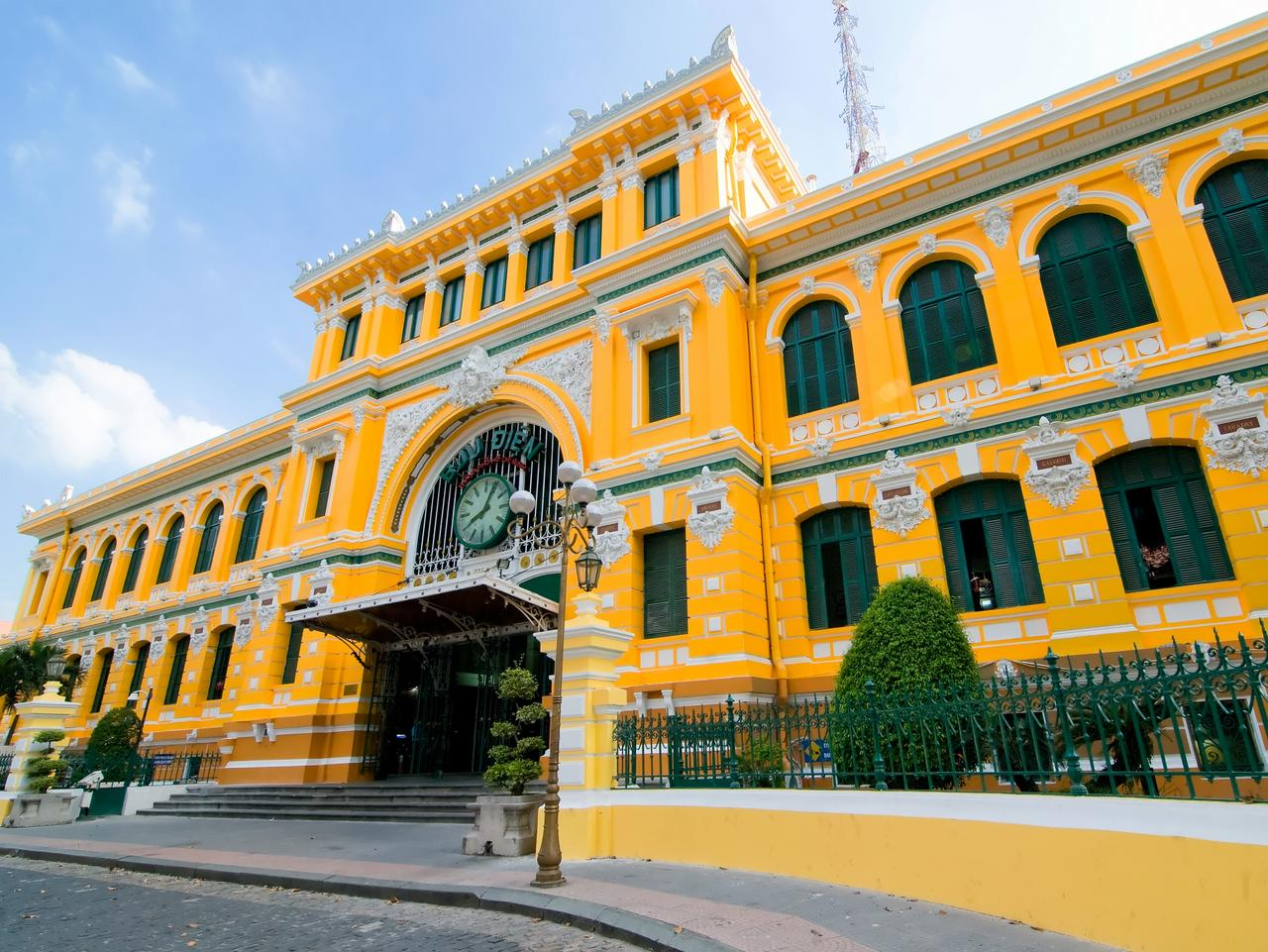 Saigon Central Post Office of Ho Chi Minh city, Vietnam