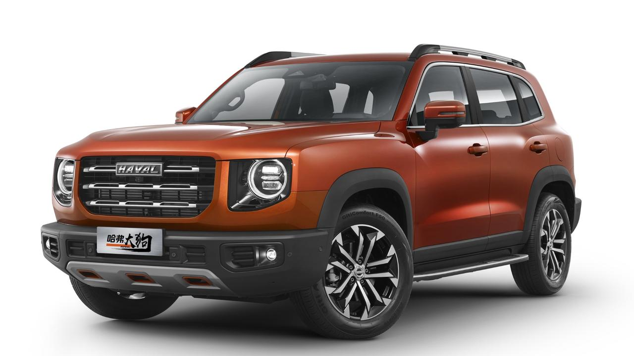 """Haval's """"Big Dog"""" SUV brings butch styling to the H6."""