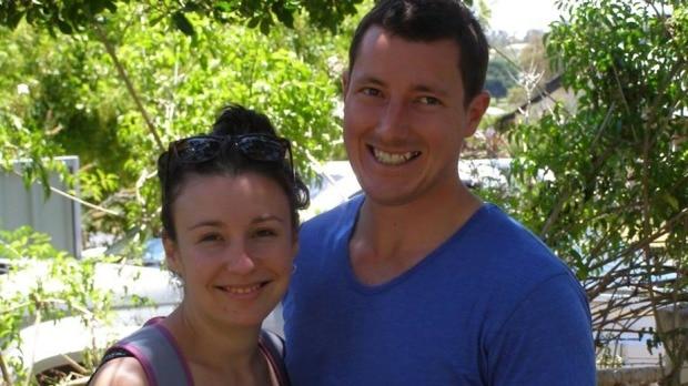 Leeton teacher Stephanie Scott and fiance partner Aaron Leeson-Woolley. Picture: Facebook