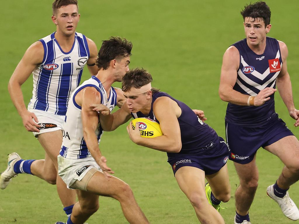 The stadium was empty on Saturday night but Kangas fans had reasons to cheer.