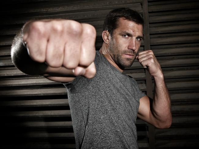 American MMA fighter Luke Rockhold.
