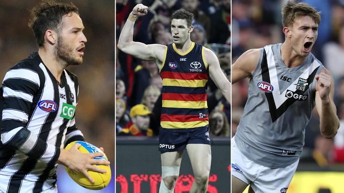 See what the recruits from the AFL trade period will bring to their new clubs.