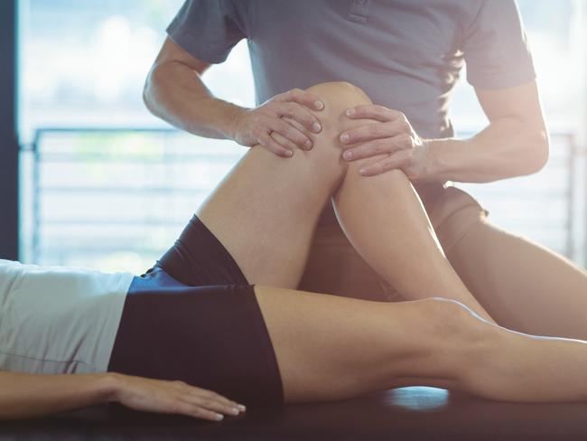 Physiotherapy is among Australia's main growth occupations. Picture: iStock