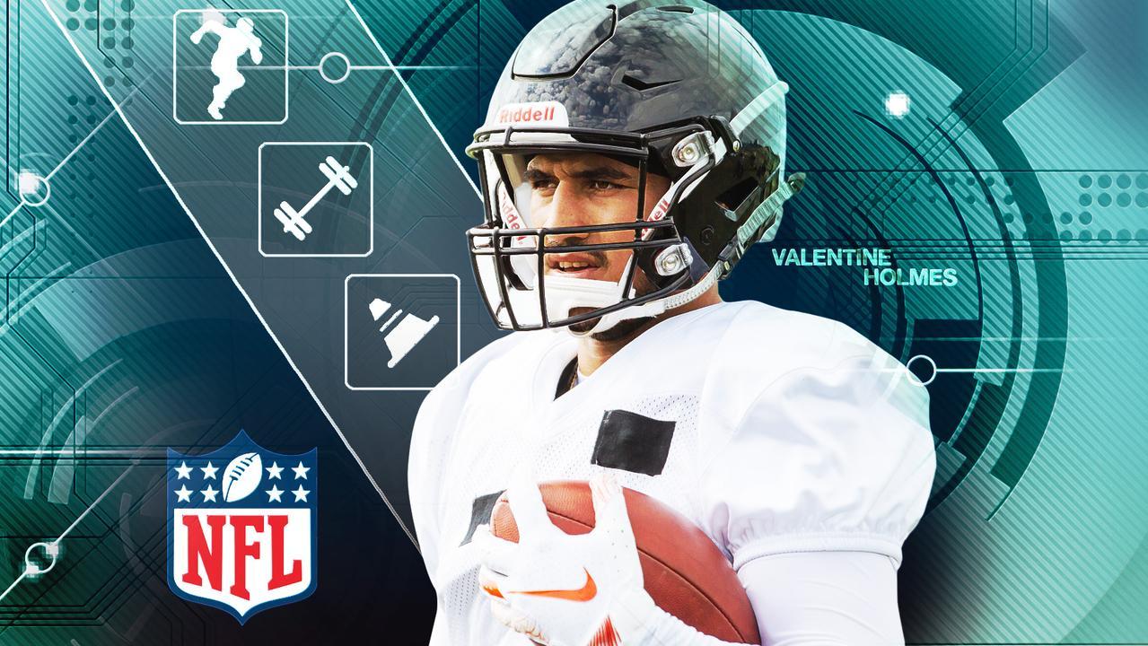 Valentine Holmes reveals NFL Pro Day results.
