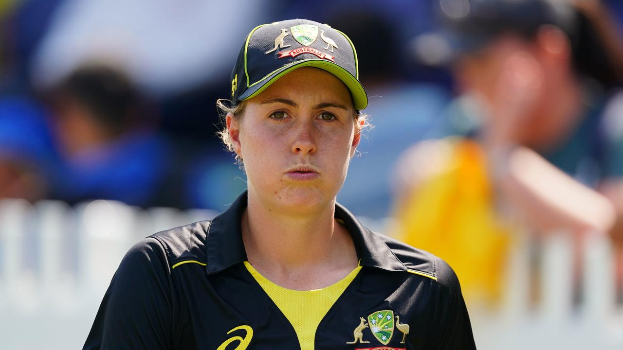 Molly Strano has been jettisoned into Australia's T20 World Cup squad after Tayla Vlaeminck was ruled out.