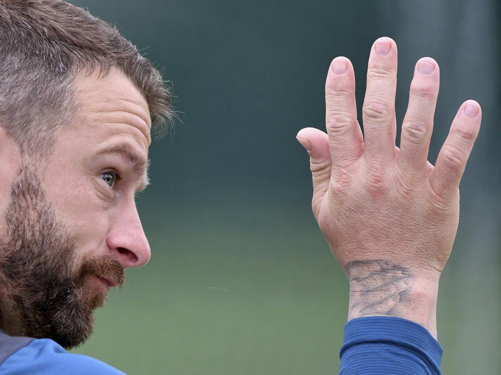 Matthew Wade has put his hand up. (Anthony Devlin/PA via AP)