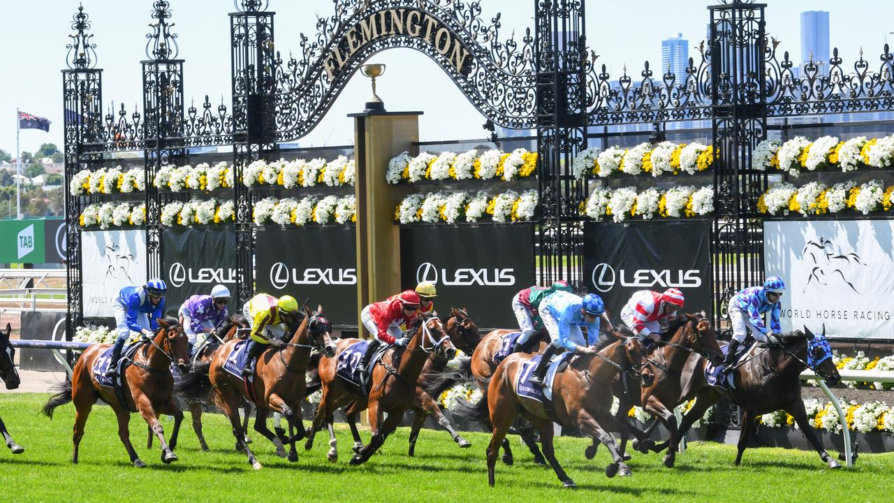 Melbourne Cup thrown into chaos