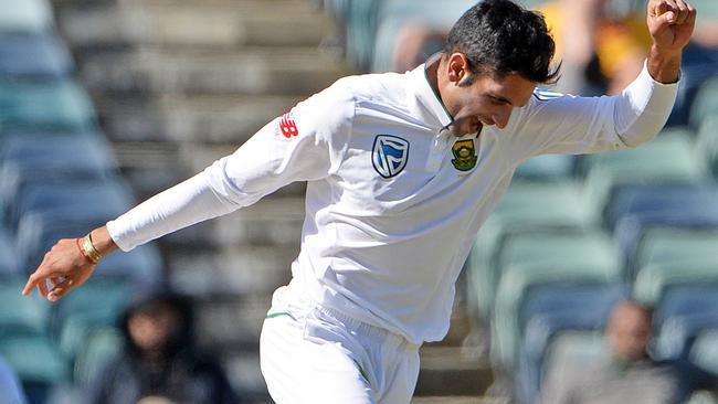 Keshav Maharaj has troubled the Aussie batsmen in the past.