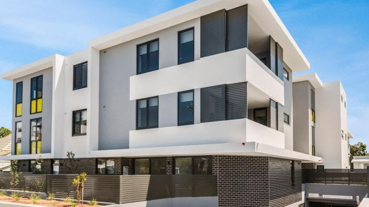 A Parramatta apartment renting for $540 a week.