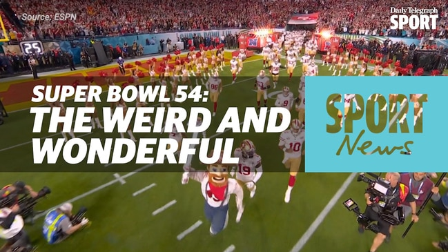 Super Bowl 54: The Weird and Wonderful Moments