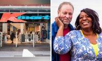 Divorced mum-of-three meets husband at Kmart