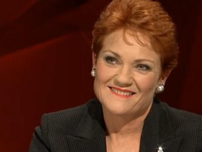 Pauline Hanson wasn't backing down on her views.