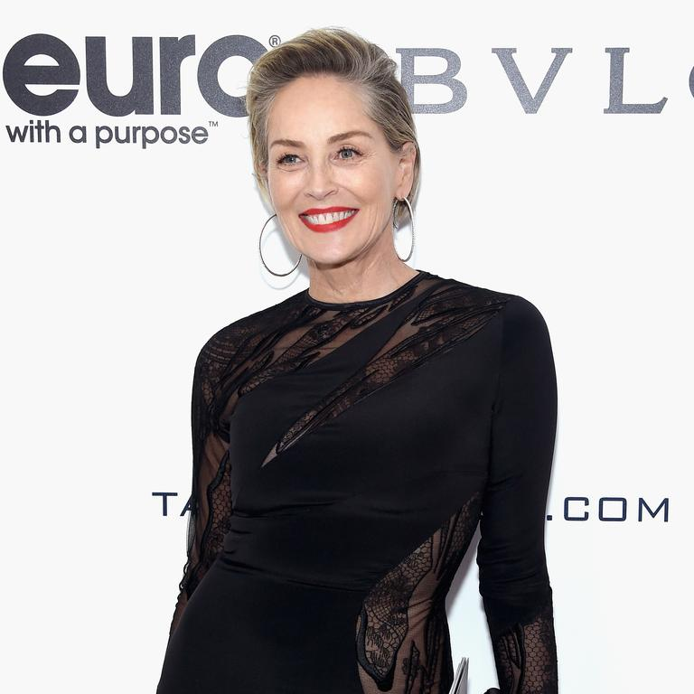 Sharon Stone: Being hit by lightning was 'really intense'. You don't say. Picture: Getty Images for EJAF