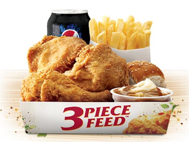 KFC Three Piece Feed