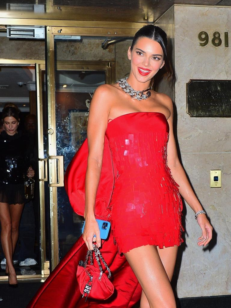 Kendall Jenner looked stunning. Picture: PapCulture/Backgrid