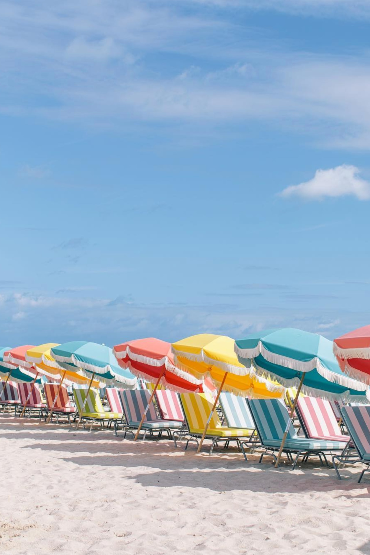 22 photos of beach umbrellas that will give you total travel envy