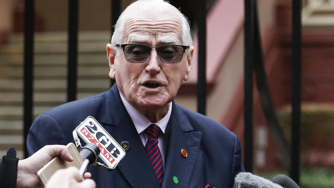 Fred Nile, the leader of the Christian Democratic Party, is set to retire in November. Picture: Dylan Robinson