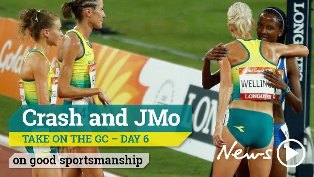 Crash and JMo take on the GC - on Good sportsmanship