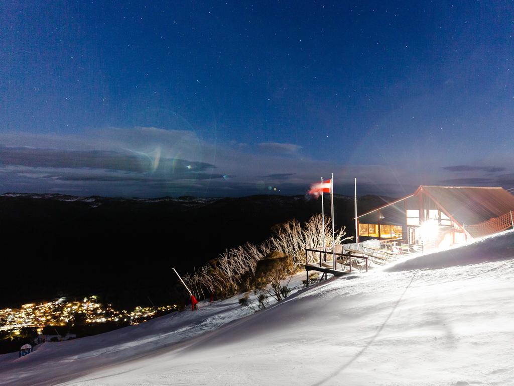 Kareela Snowcat Dinners at the resort's Kareela Hutt restaurant will be a new experience in 2021. Picture: Thredbo