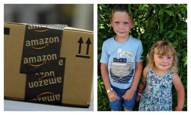 Mum's bizarre discovery after opening Amazon package